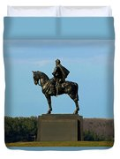 There Stands Jackson Duvet Cover