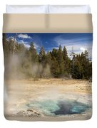 Thermal Landscape Duvet Cover