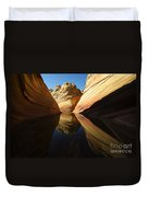 The Wave Reflected Beauty 1 Duvet Cover