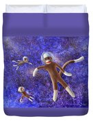 They Came From Outer Space Duvet Cover