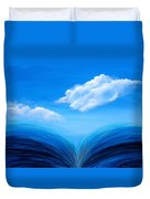 They Flowed Together Duvet Cover