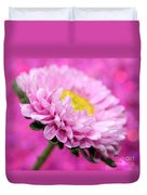 Think In Pink Duvet Cover