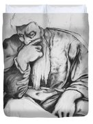 Thinker Duvet Cover