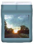 Third Sunset Duvet Cover