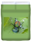 Thirsty Beetle Duvet Cover