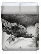 Thirsty Crow Duvet Cover