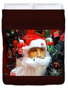 Thirsty Santa Duvet Cover
