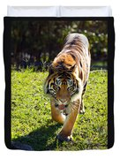 Thirsty Tiger Duvet Cover