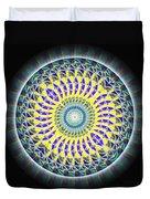 Thirteen Stage Alchemy Kaleidoscope Duvet Cover by Derek Gedney