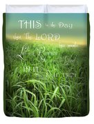 This Is The Day Duvet Cover