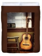 This Old Guitar Duvet Cover