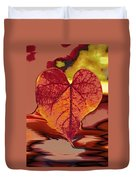 This One Is For Love Duvet Cover by Linda Sannuti