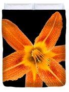This Orange Lily Duvet Cover