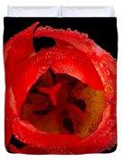 This Red Tulip Duvet Cover