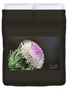 Thistle Bloom Duvet Cover