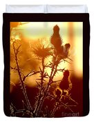 Thistle Edge Glow Duvet Cover