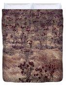 Thistle Field Duvet Cover