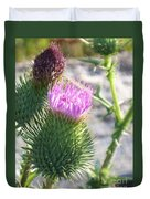 Thistle Flower Duvet Cover