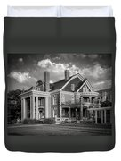 Thistle Hill Bw Duvet Cover