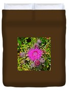 Thistle In Saint Mary's Ecological Reserve-newfoundland Duvet Cover