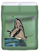 Thoas Swallowtail Butterfly Duvet Cover