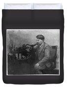 Thomas Alva Edison 1892 Duvet Cover