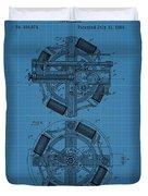 Thomas Edison Blueprint Phonograph Duvet Cover