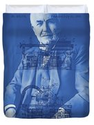 Thomas Edison Duvet Cover