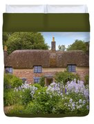 Thomas Hardy's Cottage Duvet Cover by Joana Kruse