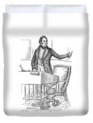 Thomas Hart Benton (1782-1858) Duvet Cover