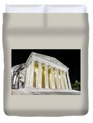 Thomas Jefferson Memorial At Night  Duvet Cover