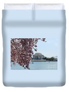 Thomas Jefferson Memorial Duvet Cover