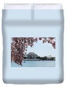 Thomas Jefferson Memorial In Dc Duvet Cover