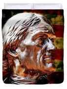 Thomas Jefferson Statue  Duvet Cover