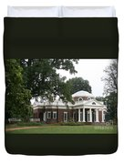 Thomas Jeffersons Monticello Duvet Cover