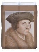 Thomas More Duvet Cover by Hans Holbein the Younger