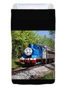 Thomas Visits The Cvnp Duvet Cover
