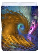 Thor Legacy - Square Version Duvet Cover