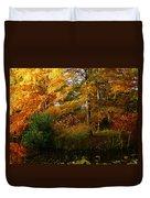Thoreau's Splendour Duvet Cover