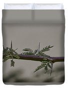 Thorns Of The Acacia Tree Duvet Cover
