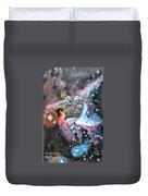 Thor's Helmet Nebula Duvet Cover