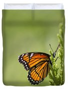 Those Magnificent Monarchs - Danaus Plexippus Duvet Cover