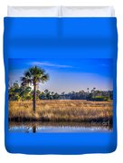 Those Quiet Sounds Duvet Cover by Marvin Spates