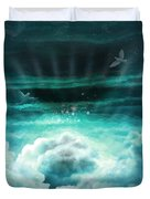 Those Who Have Departed - Celestial Version Duvet Cover