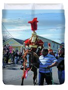 Thoth Parade Rider Duvet Cover