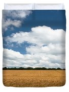 Thoughts Of A Wheatfield Duvet Cover
