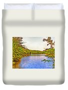 Thousand Trails Preserve Natchez Lake  Duvet Cover