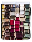 Threads I Duvet Cover