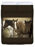 Three Amigos Duvet Cover by Steven Bateson