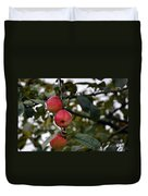 Three Apples Duvet Cover
